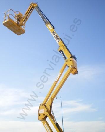 alquiler plataformas elevadoras articuladas madrid servialqui